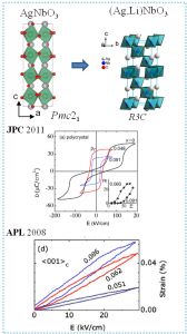 AgNbO3-based ferroelectrics