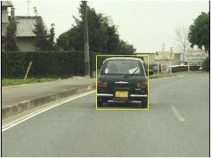 車両追跡画像
