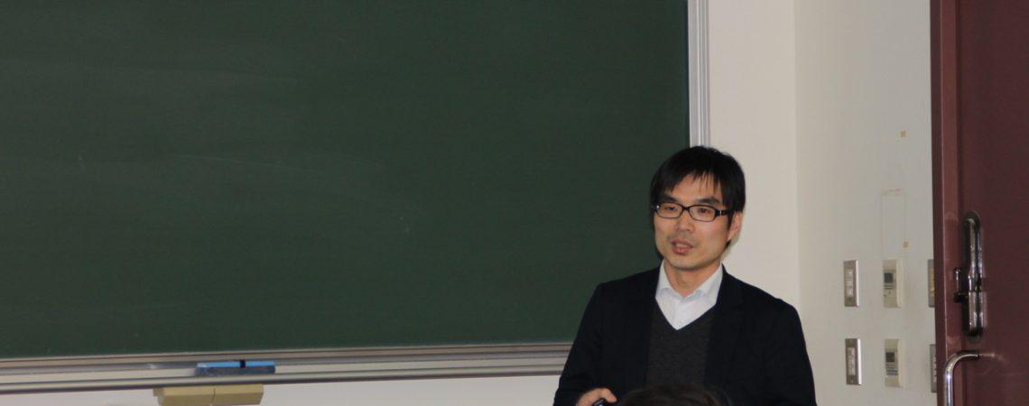 井貫晋輔先生 講演会を開催しました。